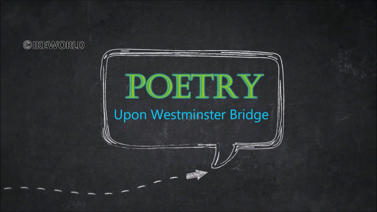 composed upon westminster bridge essay Composed upon westminster bridge, september 3, 1802 questions and answers - discover the enotescom community of teachers, mentors and students just like you that can answer any question you might.