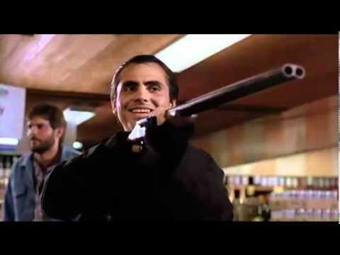 Steven Seagal is Mason Storm in Hard to Kill (1990), store fight scene