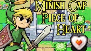 The Legend of Zelda:  Minish Cap Piece of Heart Guide