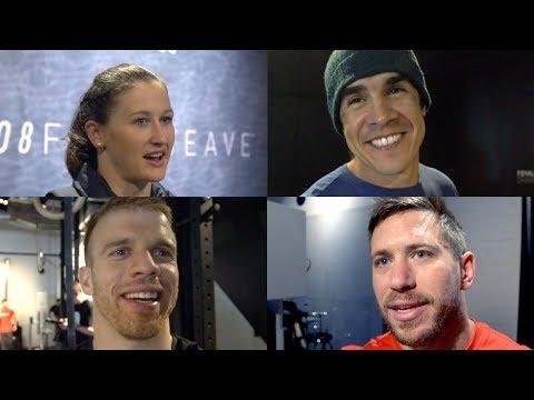 Reebok Nano 8 Launch - Dave Castro, Dan Bailey, Tia-Clair Toomey & Scott Panchik