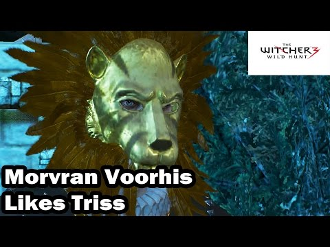 The Witcher 3 - Morvran Voorhis Likes Triss - A Matter of Life and Death