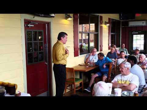 Eric Wright Speaking at Viera Fuel