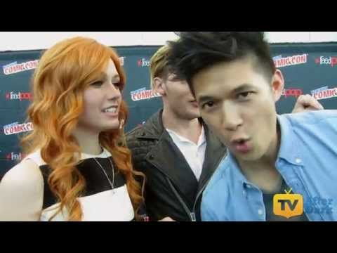 Shadowhunters Cast Talk Cosplaying, Live Tweeting, and What to Expect at NYCC 2015 Interview