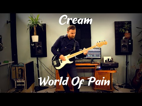 Cream - World Of Pain (Full Cover With All Instruments)