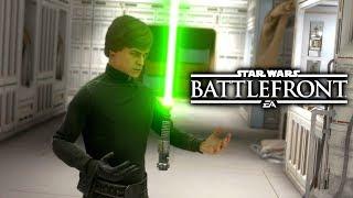 Star Wars Battlefront - Luke Skywalker Fails Compilation