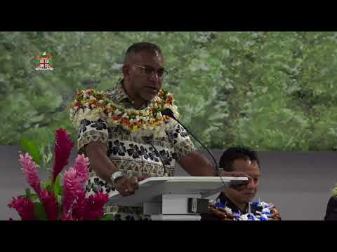 Fijian Minister for Industry, Trade & Tourism opens 27th Session of APCAS