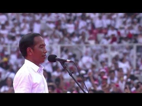 Orasi PRESIDEN JOKO WIDODO Di Konser PUTIH BERSATU JOKOWI-MA'RUF DI GBK, 13 April 2019