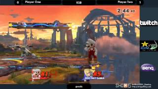 KSB スマブラWiiU部門 Eブロック予選勝者側1回戦 hiko vs Qoo/KSB Smash WiiU PoolsE WB1