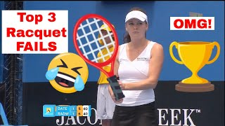Top 3 Racquet Fails of ALL TIME!