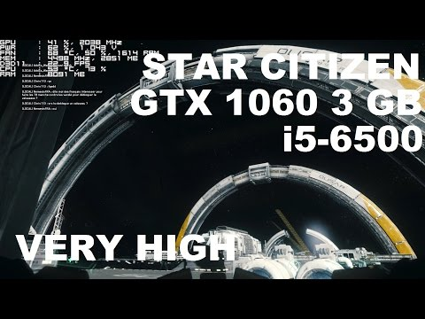 Star Citizen 2.6.3 - GTX 1060 3 Gb - Very High - 1080p