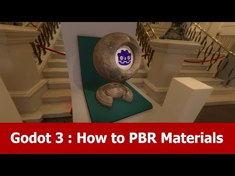 Godot 3 Tutorial : PBR Materials - YouTube