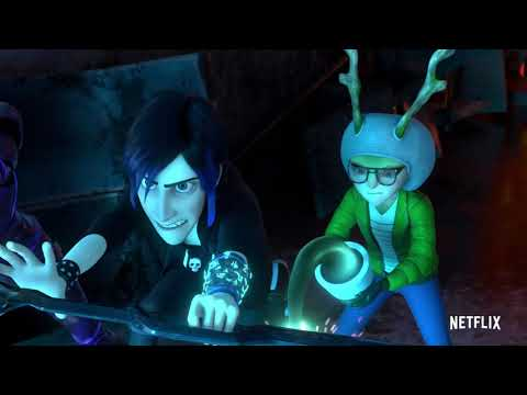 Opening Train Sequence (No More Running)   TROLLHUNTERS: RISE OF THE TITANS   NETFLIX