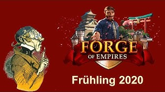 FoETipps: Frühlings Event 2020 in Forge of Empires (deutsch)