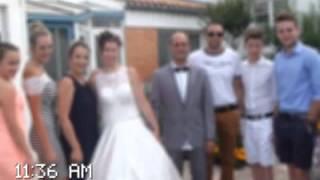 Montage Photo Kizoa: mariage christophe elodie aiyana44