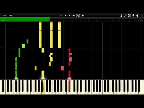 Black Sabbath - A National Acrobat Instrumental Synthesia Piano MIDI