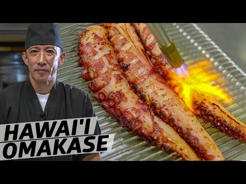 How Master Sushi Chef Seiji Kumagawa Uses Modern Technology to Upgrade his Hawai'i Omakase — Omakase