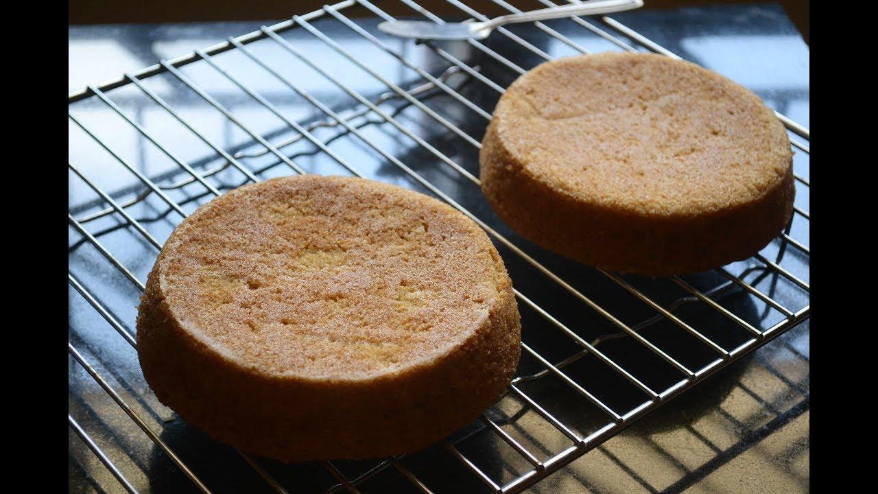 Aquafaba Sponge Cake Recipe