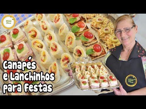 Canapés e Lanchinhos para Festas   Como Fazer Entradas Deliciosas para Festinhas #214