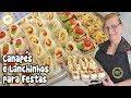 Canapés e Lanchinhos para Festas | Como Fazer Entradas Deliciosas para Festinhas #214