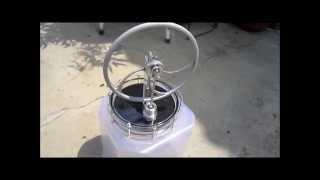 Solar stirling engine-Niedertemperatur Stirling,  Heissluftmotor  ,Moteur de Stirling solaire