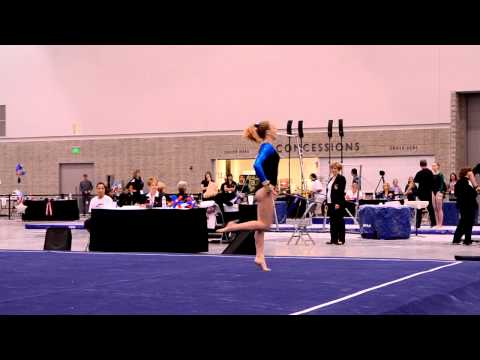Alex McMurtry 2012 JO Nationals Floor Routine