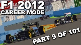 F1 2012: Career Mode Walkthrough (9/101) - European Grand Prix (SEASON 1/CATERHAM) - HD