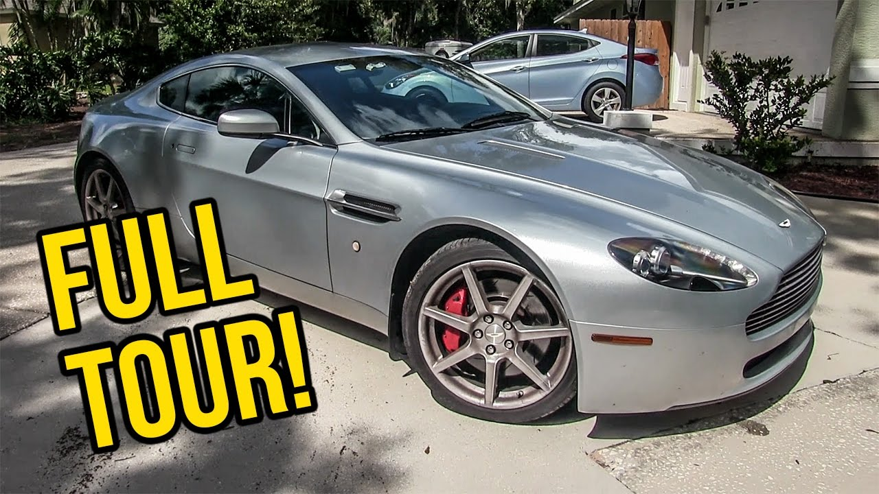 A Full InDepth Tour Of My Aston Martin V Vantage YouTube - Aston martin v8