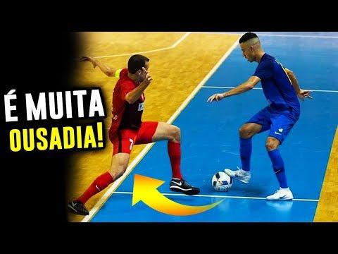 DRIBLE MAIS PROVOCATIVOS DO FUTSAL #2 😱   Futsal skills