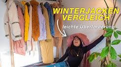 10 Winterjacken im VERGLEICH & TEST | Warm & trotzdem Stylisch?!