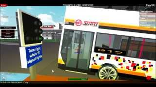 SMRT E500 on roblox [part 2] Driving 912