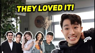 friends react to my new home ❤️ | BHQ