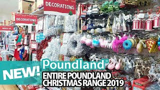 ENTIRE POUNDLAND CHRISTMAS 2019, POUNDLAND SHOP WITH ME ♡ What's New In poundland December 2019