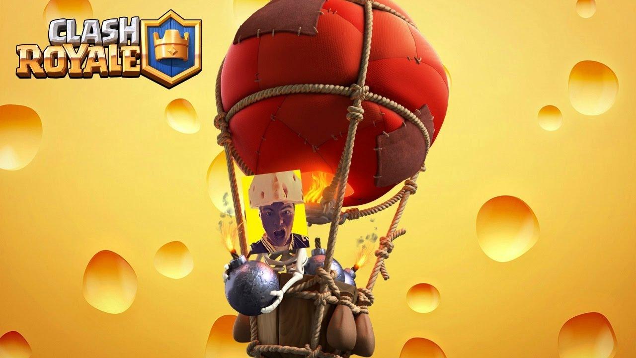 Balloon Clash Royale
