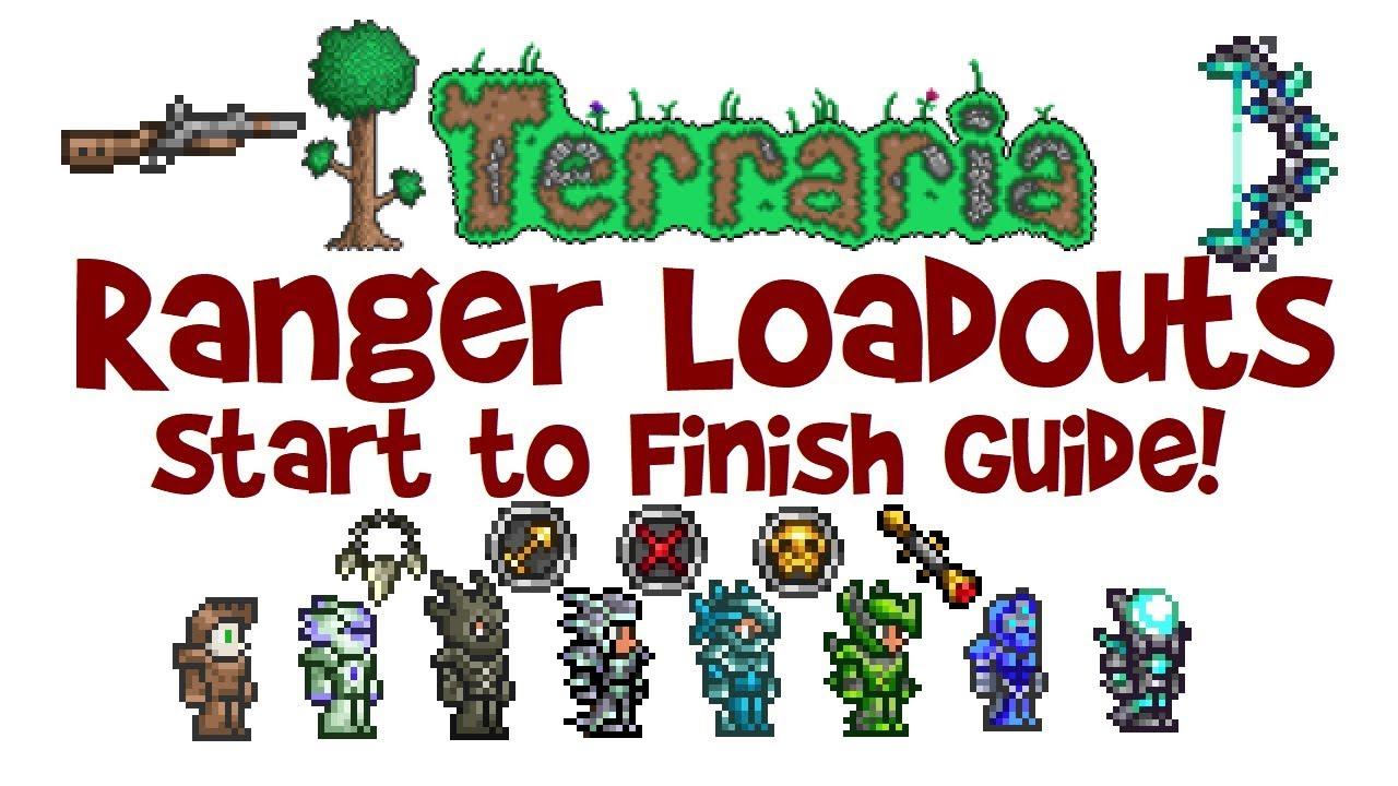 Best Terraria Ranger Loadout Guide Class Weapons Armor
