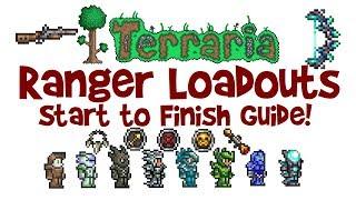 Best Terraria Ranger Loadout Guide! (Class Weapons, Armor & Accessories)