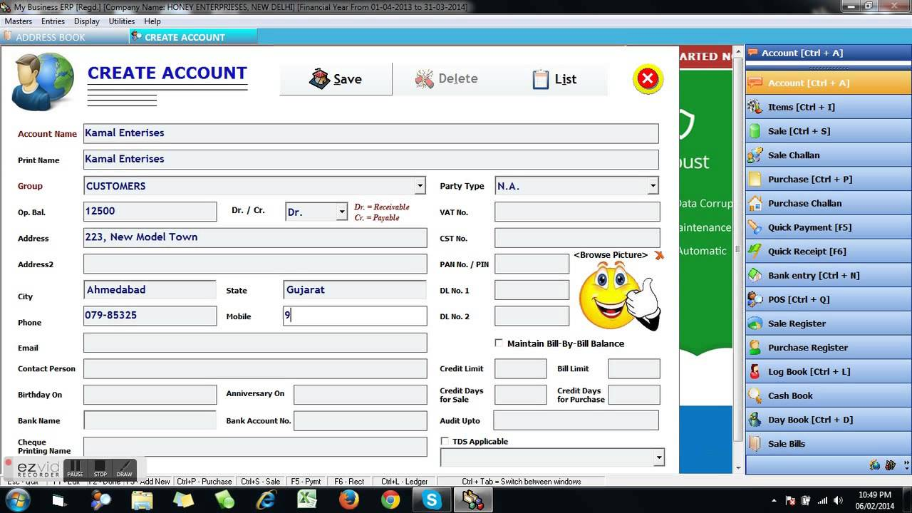 Speed Plus Business Accounting Erp Software Chapter 2