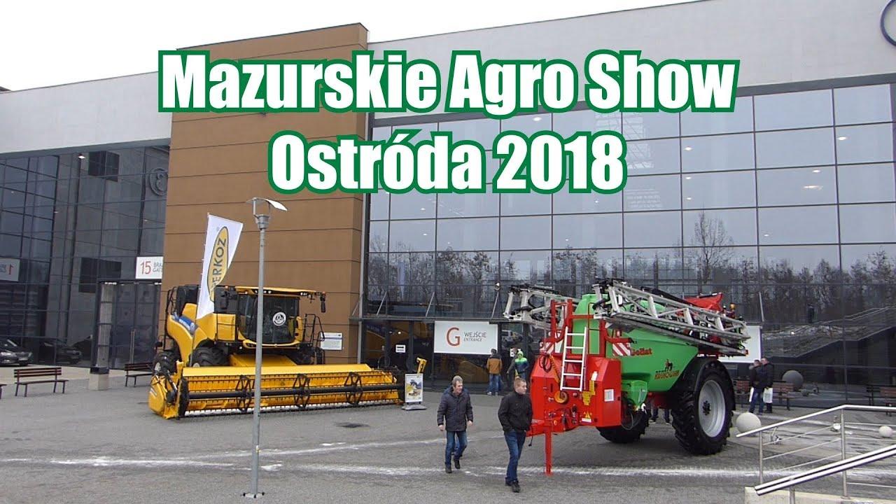 Targi rolnicze: Mazurskie Agro Show – Ostróda 2018