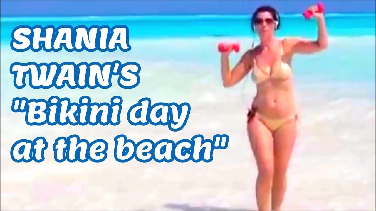 Shania Twain Bikini