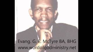 Evang.G. E. McTyre - Barack Obama, Manchurian Candidate???