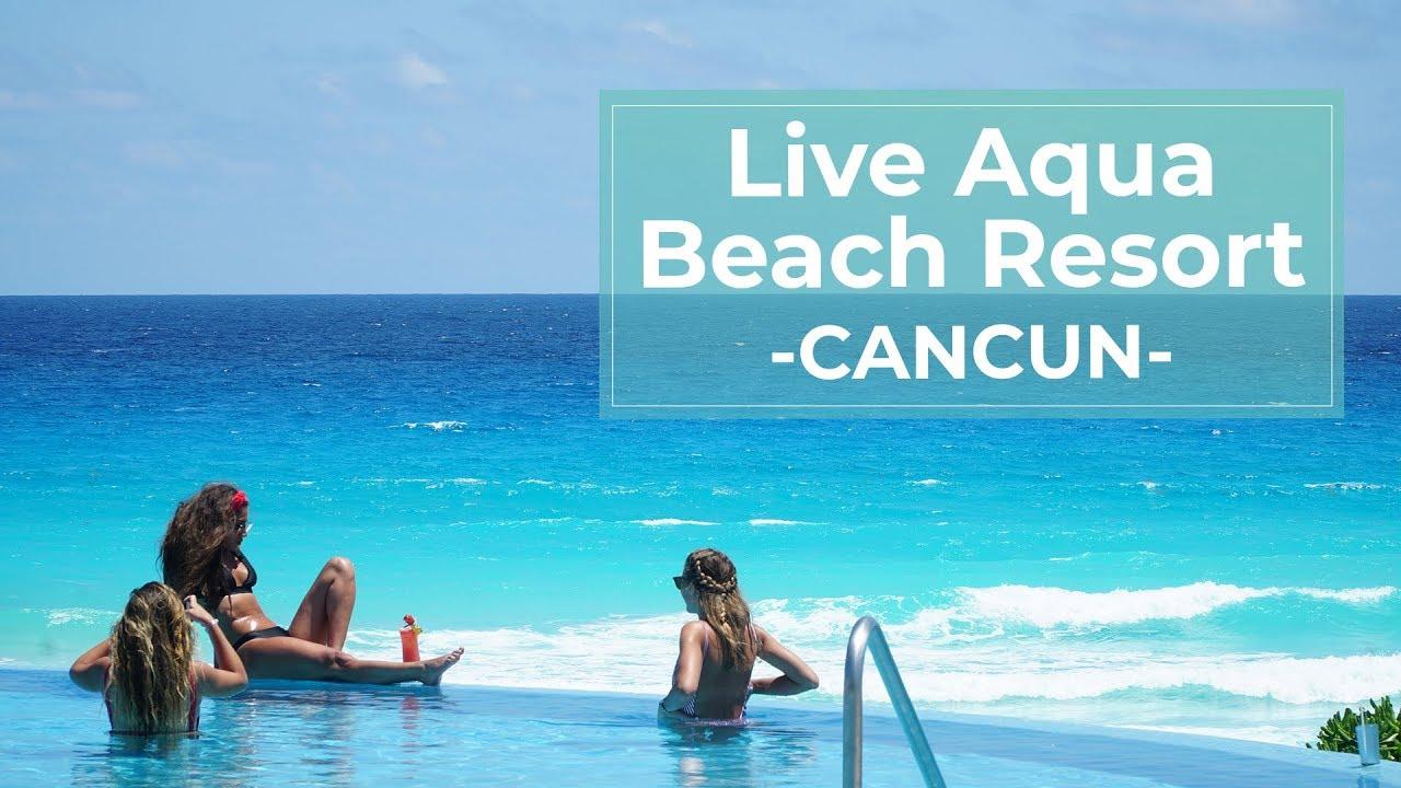 Live Aqua Beach Resort An Adult Only Paradise Cancun Com Youtube