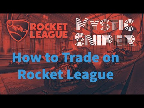 How To Trade On Rocket League - XBOX 1 ONLY