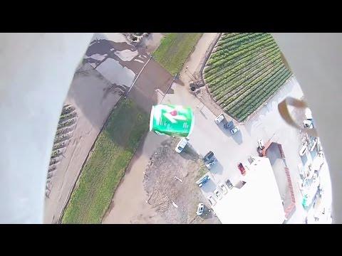 RC Plane SODA BOMBER! Dollar Tree Foam Board