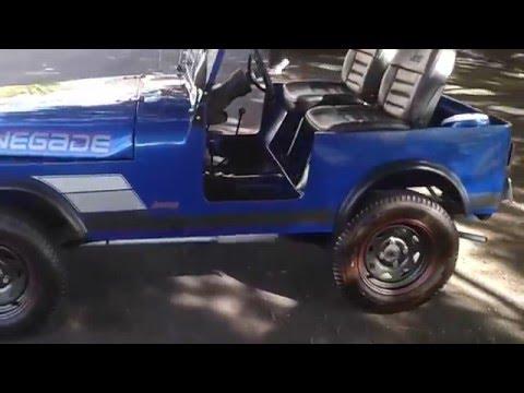 Handmade Mini Jeep CJ7 3/4 Scale Go Kart