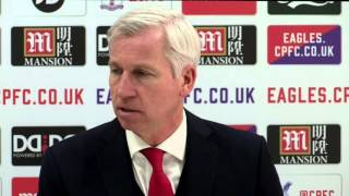 You have to commit murder to get sent off against Palace - Pardew
