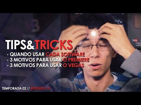 Vegas, Premiere ou After Effects: Qual Editor Usar? // TIPS&TRICKS #40