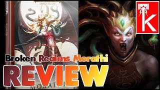 BROKEN REALMS: MORATHI REVIEW AND LORE! Warhammer AoS (I love this book!!!) - HEAVY SPOILERS