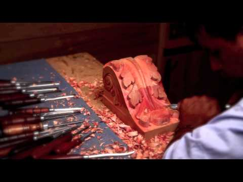 Time Lapse Wood Carving - wlinteriors.us -
