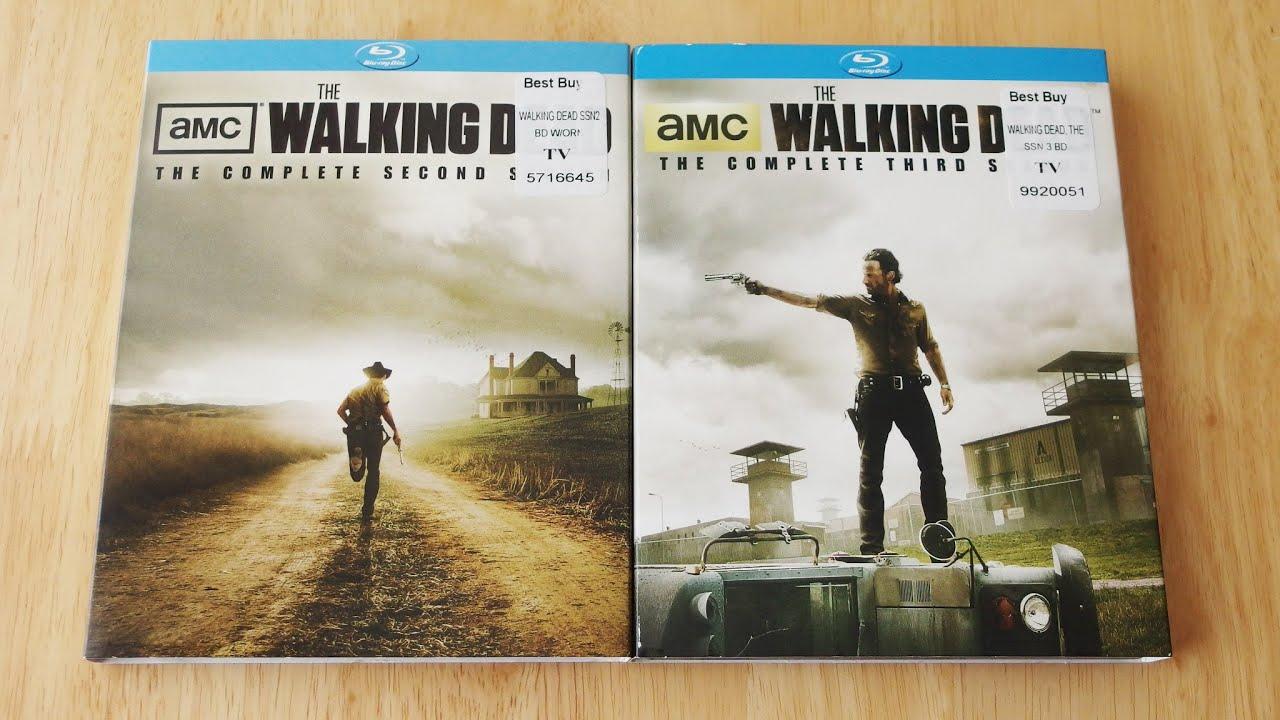The Walking Dead Season 2 3 Blu Ray Unboxing Review