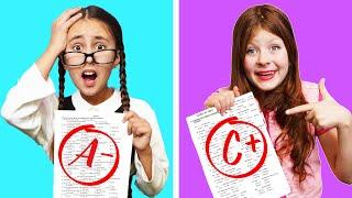 Tipos de Estudiantes en Clase || Situaciones graciosas en la escuela