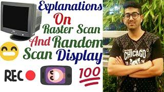Raster scan and Random scan Display